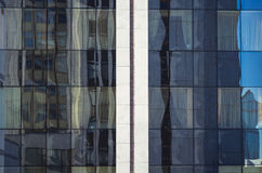 Facade of a modern building. In Russia Royalty Free Stock Photography