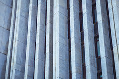 Facade of a modern building. In Russia Royalty Free Stock Photos