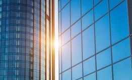 Facade of a modern building Stock Photography