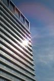 Facade of a modern industrial building Stock Photo