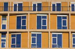 Facade of a modern office building Royalty Free Stock Images