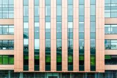 Facade modern office building Stock Photography