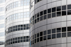 Facade of a modern office buildings in Rotterdam Stock Photo