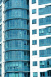 Facade of modern skyscraper Royalty Free Stock Images