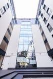 Facade of modern skyscraper Stock Photography