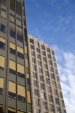 facade moderne london Arkivbilder