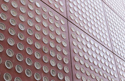 Facade of a modernist building Royalty Free Stock Photo