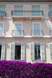 Facade from Monaco Royalty Free Stock Photo