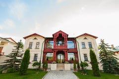 Facade of the monk house Stock Photography