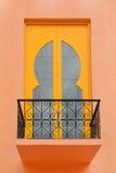 Facade of the moroccan style Stock Photos
