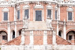 Facade of most beautiful Church of the Intercession Royalty Free Stock Images