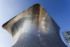 Facade of Museo Soumaya art museum in Mexico City - Mexico. North America Royalty Free Stock Photos