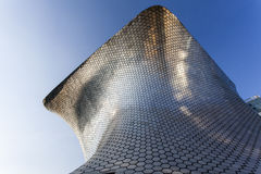 Facade of Museo Soumaya art museum in Mexico City - Mexico. North America Stock Images