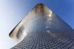 Facade of Museo Soumaya art museum in Mexico City - Mexico. North America Royalty Free Stock Photo