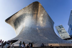 Facade of Museo Soumaya art museum in Mexico City - Mexico. North America Stock Photos