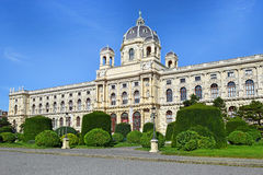 Facade of Museum of Natural History in Vienna, Austria Stock Photography