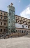 Facade of museum reina sofia Stock Photo