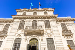 Facade of the Natinal museum in Alexandria, Egypt. Royalty Free Stock Photo