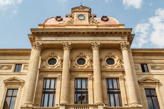 Facade of the National Bank Stock Image
