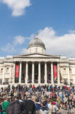 Facade of The National Gallery in London Royalty Free Stock Photos