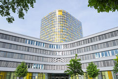 Facade of new modern ADAC headquarters and offices building Stock Photo