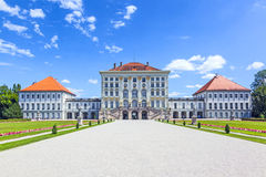 Facade of nymphenburg castle, Munich Royalty Free Stock Images