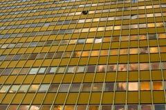 Facade od skyscraper Stock Photos