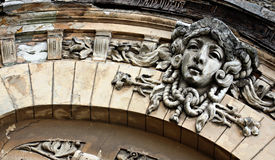 Facade in Odessa, Ukraine Stock Image