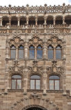 Facade Of A Post Office Palace Royalty Free Stock Photo