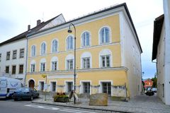 Free Facade Of House Where Adolf Hitler Was Born Royalty Free Stock Images - 109729319