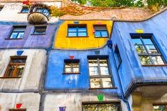 Free Facade Of Huntdertwarsser House In Vienna. Stock Photography - 81428502
