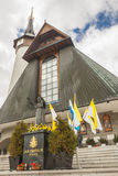 Facade Of Krzeptowki Sanctuary - Poland. Royalty Free Stock Images