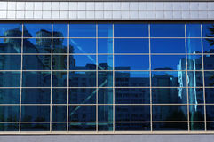 Facade Of Modern Building. Royalty Free Stock Photo