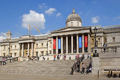 Free Facade Of National Gallery Of London Stock Image - 94390501