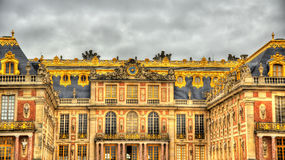 Facade Of The Palace Of Versailles Royalty Free Stock Image
