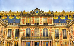 Facade Of The Palace Of Versailles Royalty Free Stock Images