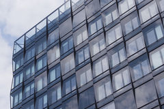 Facade office building / commercial real estate Stock Image