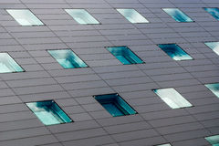 Facade office building Stock Images