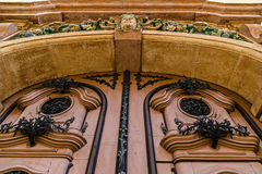 Facade with old architectural details.Timisoara, Romania 2 Royalty Free Stock Photography