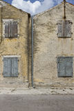 The facade of an old building Stock Photography