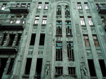 The facade of the old building Royalty Free Stock Photography