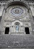 Facade of old church Stock Photos