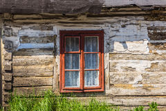 Facade of an old cottage Royalty Free Stock Photo