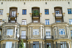Facade of old house Royalty Free Stock Image