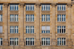 Facade of old house Stock Photography