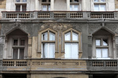 Facade of old palace Stock Photography