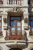 Facade of old style building Royalty Free Stock Photo