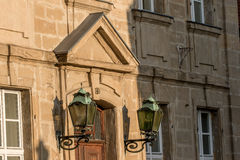 Facade old town Bayreuth Royalty Free Stock Photo
