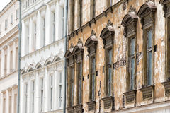Facade. In the oldtown of Krakow, Poland Royalty Free Stock Photo