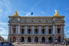 Facade of  Opera or Palace Garnier. Paris, France Stock Photo